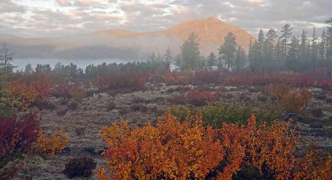 O mapa dos montes Urais possui mais de 50 pontos com registros de atividades anômalas Foto: karpukhins.livejournal.com