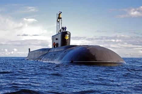 Marinha deverá receber oito submarinos nucleares com mísseis balísticos do Projeto 955 Foto: Press Photo