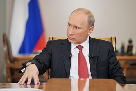 Segundo o presidente, a tática, os métodos e os meios dos que realizam ataques estão sendo aperfeiçoados Foto: Aleksêi Nikólski/RIA Nóvosti