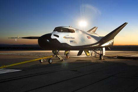 """""""Dream Chaser"""" foi derrotado em licitação pelos projetos das empresas Boeing e SpaceX Foto: wikipedia.org"""