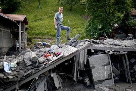 País europeu vem sendo afetado por graves enchentes desde maio passado Foto: Reuters