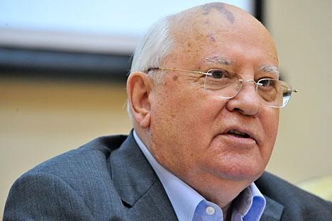 Gorbatchov foi condecorado com o Prêmio Nobel da Paz em 1990 Foto: ITAR-TASS