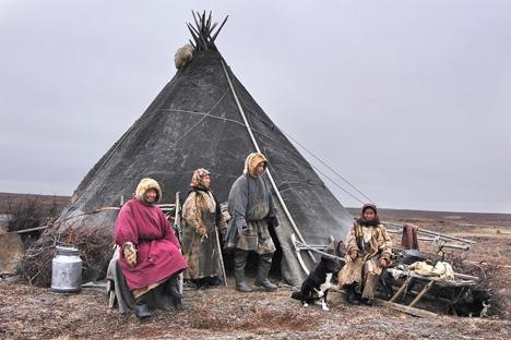 Historicamente, o modo de vida das nações nativas, pouco numerosas do Norte foi condicionado pela severidade do ambiente circundante Foto: ITAR-TASS