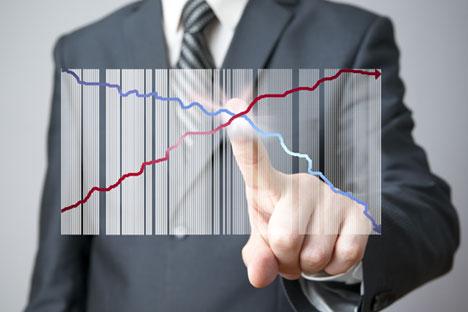 Projeção para 2015 é de dois pontos percentuais inferior à deste ano Foto: Shutterstock / Legion Media