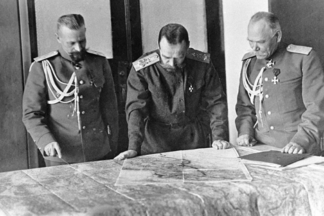 O Exército russo conseguiu causar impacto nos dois primeiros anos da guerra Foto: RIA Nóvosti