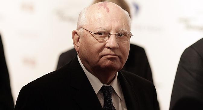 Gorbatchov foi o último líder da União Soviética, entre 1985 e 1991 Foto: Photoshot / Vostock-Photo