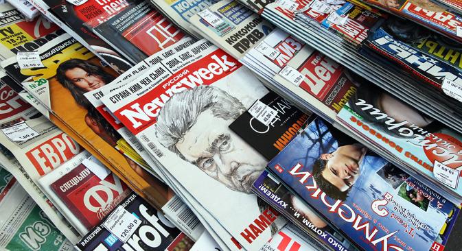 Projeto de lei que limita a participação de capital estrangeiro na mídia nacional foi iniciativa presidencial Foto: Vladímir Fedórenko / RIA Nóvosti