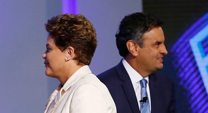 Disputa Aécio-Dilma traz à tona debate sobre reaproximação do Brasil com EUA Foto: Reuters
