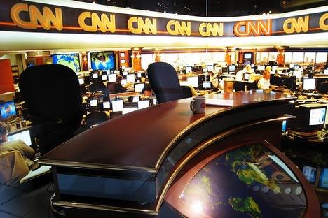 Kantor CNN di Moskow.