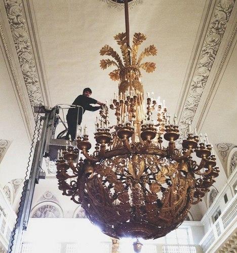 Usuários do Instagram também capturaram momentos únicos de trabalho no museu Foto: instagram