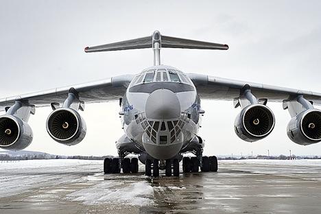 Testes com primeiro veículo da série Il-76MD-90A foram concluídos em outubro passado Foto: Press Photo