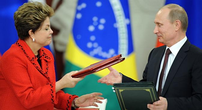 Relações comerciais entre Brasil e China expandiram em 57% no ano passado, alcançando o montante de US$ 56, 3 bilhões Foto: Lori / Legion Media