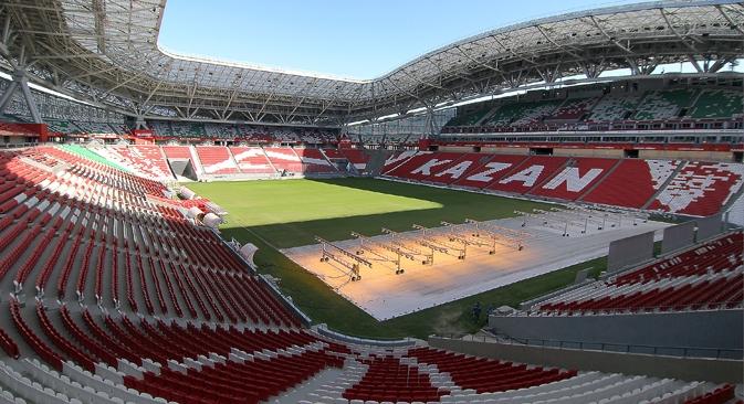 "Estádio ""Kazan arena"" Foto: TASS"