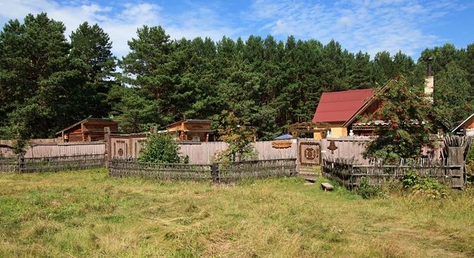 Ao longo da antiga estrada que ligava Moscou à Sibéria pode-se visitar as aldeias de Stanovka e Forpost Foto: Lori / Legion Media