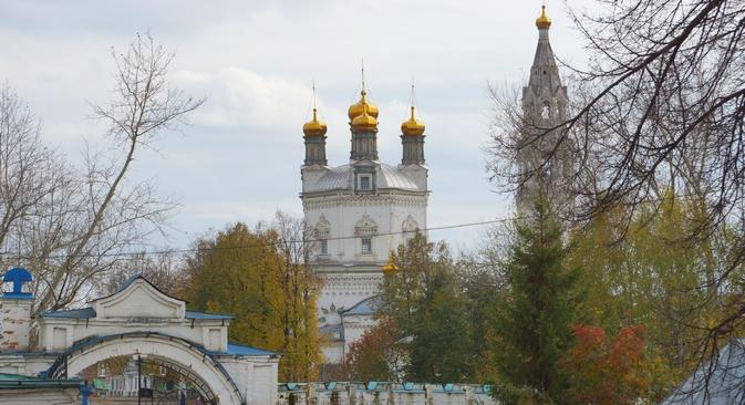 Acredita-se que em uma situação ideal não existam diferenças fundamentais entre a vida familiar e a num mosteiro Foto: Dária Kézina