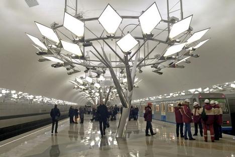 Sexta maior do mundo, rede moscovita tem 12 linhas e mais de 320 km de extensão Foto: mskagency.ru