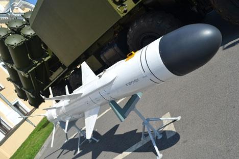 Míssil de cruzeiro Kh-35UE Uran Foto: TASS