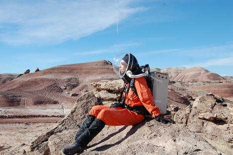 Simulação da vida no espaço no deserto de Utah, nos EUA, durou 14 dias Foto: arquivo pessoal