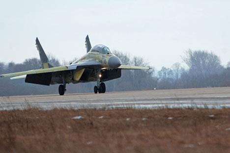 Modelo original MiG-29K Foto: Serguêi Piatakov/RIA Nóvosti