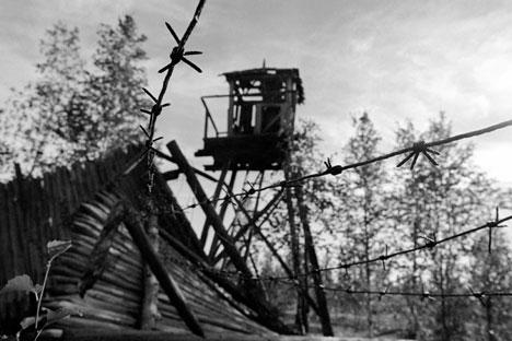 Campos de trabalho forçado inspiraram trabalhos de muitos artistas russos  Foto: TASS