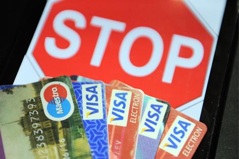 Novas restrições afetam sobretudo os bancos nacionais Foto: Donat Sorokin / TASS