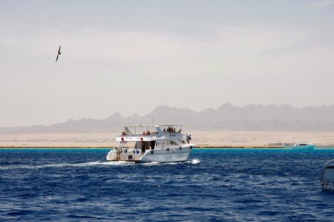 Egito foi o destino estrangeiro preferido entre os turistas russos no exterior Foto: Nikolai Korolióv