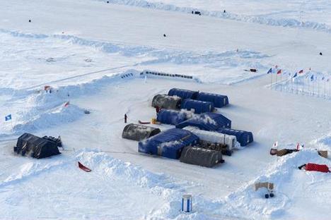 Nova expedição ao Ártico será realizada em abril de 2015  Foto: Iúri Lépski