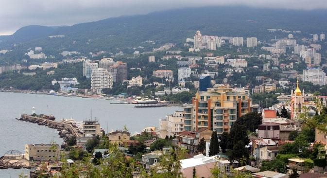 Empresas europeias não poderão comprar imóveis na Crimeia, financiar empresas locais e fornecer serviços de intermediação Foto: RIA Nóvosti