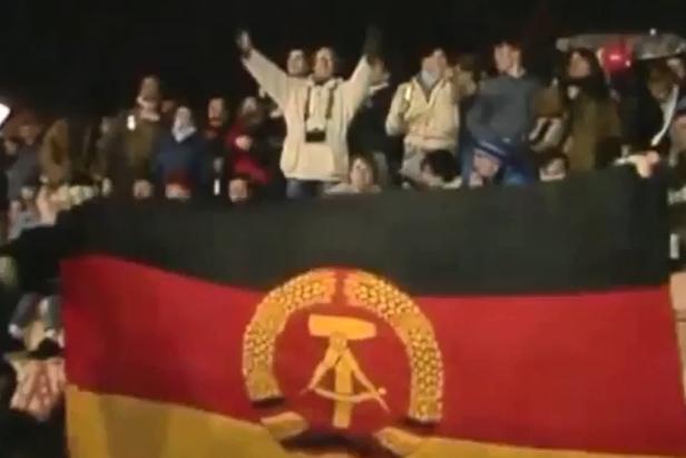 Imagens de arquivo: Tropas soviéticas deixam Alemanha após queda do Muro width=