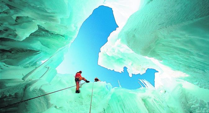 Até 2020 governo russo quer intensificar pesquisa científica e influência política na Antártica Foto: AFP/East News