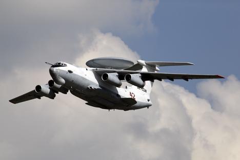 O A-100 foi criado com base no cargueiro modernizado IL-76MD-90A Foto: TASS