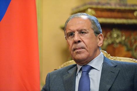 Lavrov participará de marcha antiterrorismo ao lado de líderes europeus Foto: Vladímir Péssnia/RIA Nóvosti
