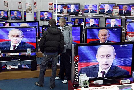 Para Moscou, novo veículo em língua russa é 'ataque à liberdade de expressão' Foto: Reuters