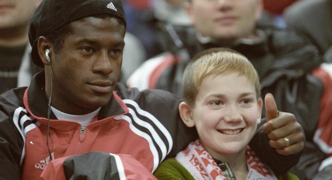 Primeiro brasileiro no futebol russo, Robson Luis, chegou ao país em 1997 para defender o Spartak Foto: Vladímir Fedorenko/RIA Nóvosti