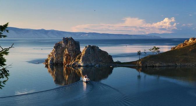 A redução do nível de água abaixo da marca de 456 metros vai afetar os ecossistemas do Baikal Foto: Lori / Legion Media