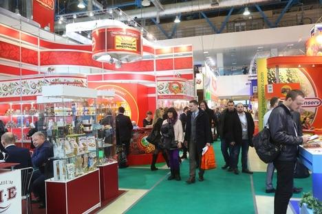 Segundo os organizadores, o objetivo é reforçar a posição brasileira como fornecedor de alimentos à Rússia Foto: Press Photo