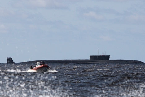 Os submarinos para fins especiais pertencem à Direção Geral de Pesquisa em Águas Profundas Foto: AP