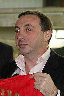 Evguêni Guíner, declarou que quer uma cota de jogadores brasileiros no Campeonato da Rússia Foto: wikipedia.org