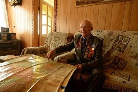 """Tchernichov: """"Eram 13 a 14 horas de voo desde a América e, na época, não havia nenhum acompanhamento via rádio"""" Foto: Kommersant"""