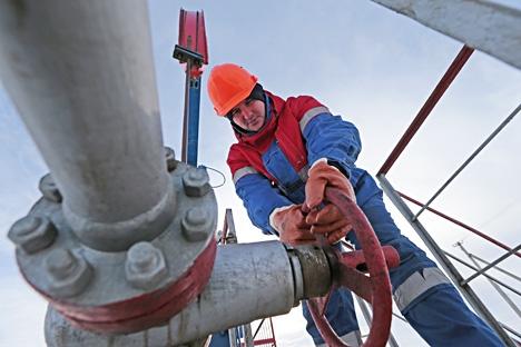 Ministério da Energia da Rússia prevê uma redução de produção de 0,6% já em 2015 Foto: TASS