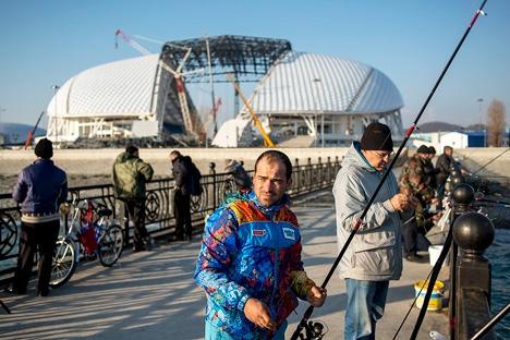 Apenas em Sôtchi, o número de turistas em 2014 aumentou 31% em comparação com o ano anterior Foto: Mikhail Mordassov