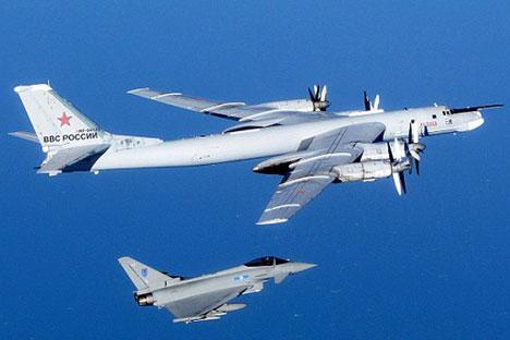 País não só pretende continuar com os voos de patrulha, mas também tem intenção de expandir as áreas patrulhadas Foto: MoD/Crown Copyright