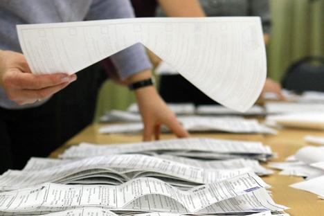 """""""Os eleitores têm o direito de saber tudo sobre seu candidato"""", explica o autor do projeto Foto: RIA Nóvosti"""