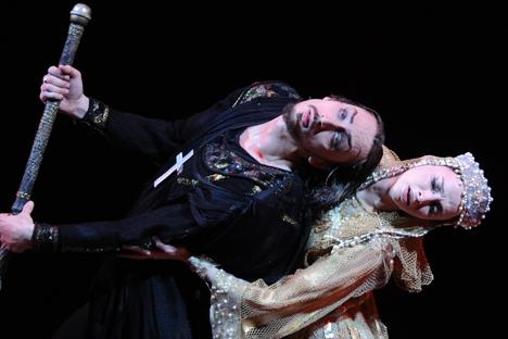 """Apresentação de """"Ivan, o Terrível"""" no Teatro Bolshoi Foto: Vladímir Fedorenko/RIA Nóvosti"""