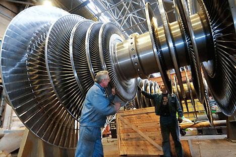 A compra faz parte da estratégia da russa de regionalizar a produção de turbinas hidráulicas no Brasil Foto: RIA Nóvosti