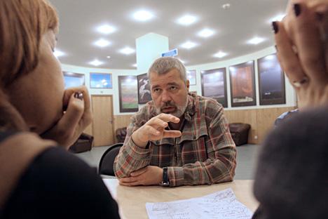 Dmítri Muradov, editor-chefe da Nóvaia Gazeta  Foto: Serguêi Mamontov / RIA Nóvosti