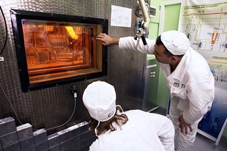 Mais de 20% das 100 maiores corporações mundiais usam tecnologia de radiação em processos tecnológicos e de produção Foto: Aleksandr Riúmin/TASS