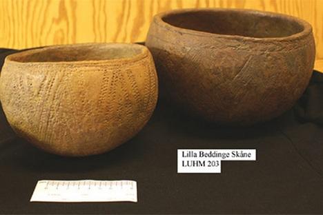 Cultura da cerâmica cordada se originou sob a influência da cultura Iamnaia ou seus representantes foram fortemente influenciados pela cultura precedente Foto: Aslar73 / Wikipedia
