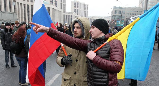 """Certeza com que russos acreditam que as relações com a Ucrânia vão melhorar em um futuro próximo é descrita por socióloga como """"intrigante"""" Foto: Getty Images / Fotobank"""