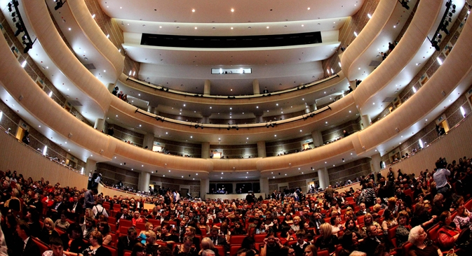 Sala de espetáculos do Teatro de Ópera e Balé de Vladivostok inaugurada no último dia 18 Foto: Vitáli Ankov/RIA Nóvosti Foto: RIA Nóvosti